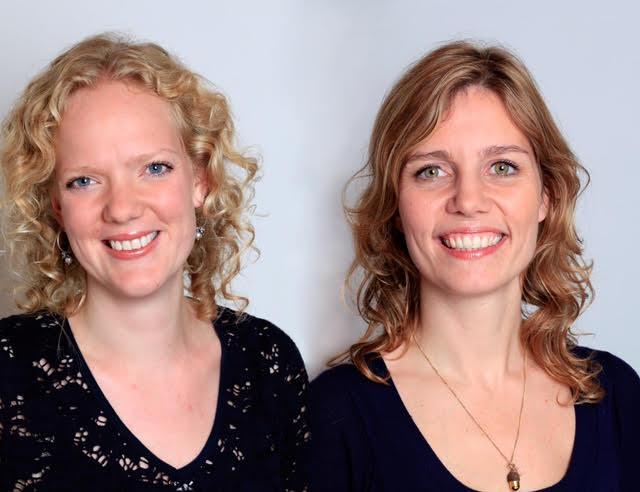 Anne-Marije Peelen en Leonore Heukelom